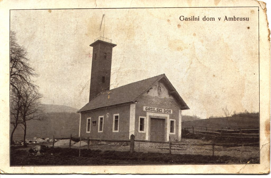 Zgrajen prvi gasilski dom