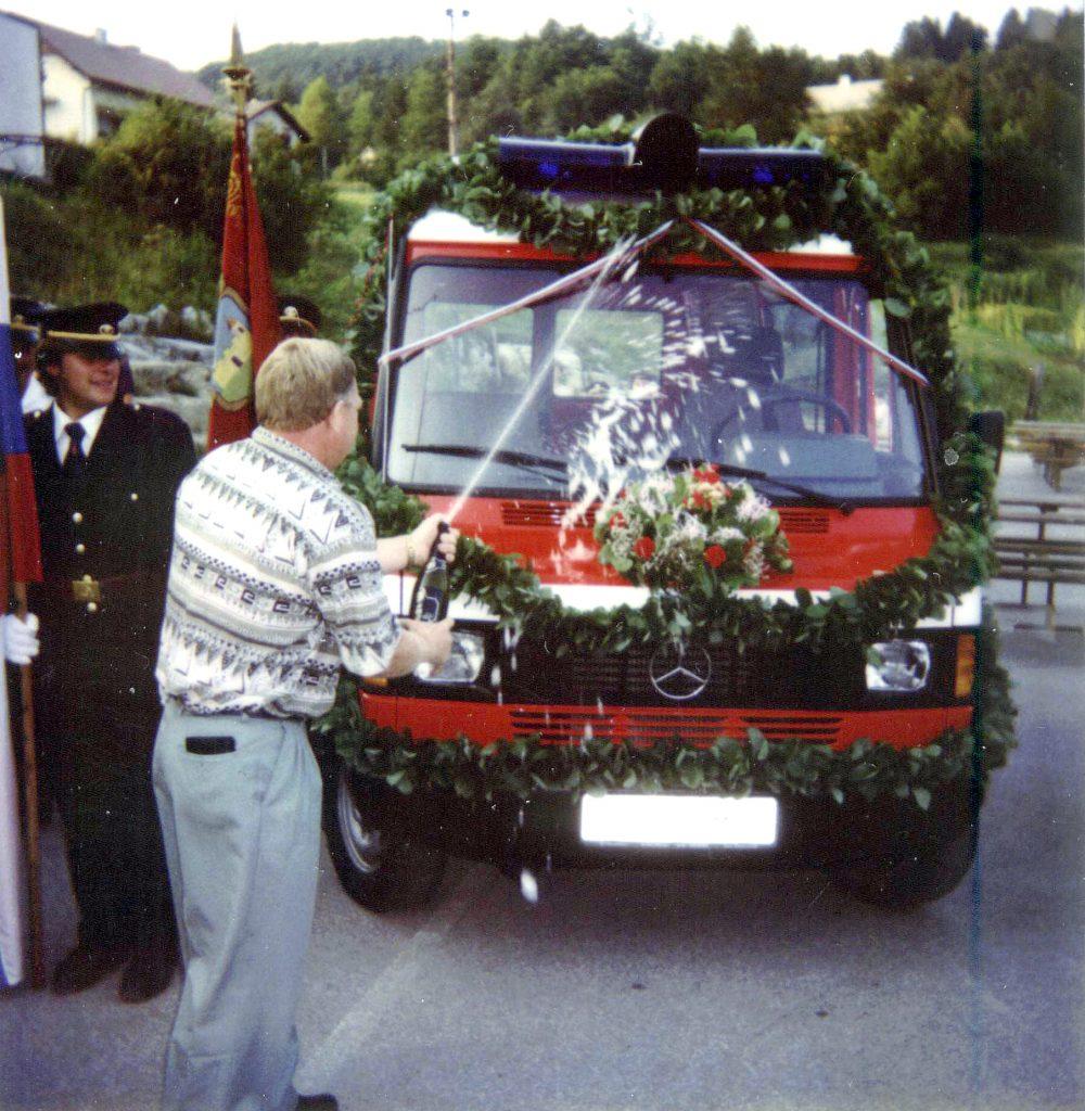 Prevzem vozila Mercedes-Benz GV-1